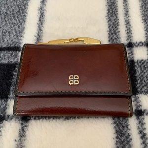 💕 Women's Bosca Mini Leather Wallet